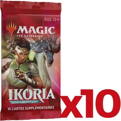 Booster Magic the Gathering Ikoria La Terre des Béhémoths - Lot de 10