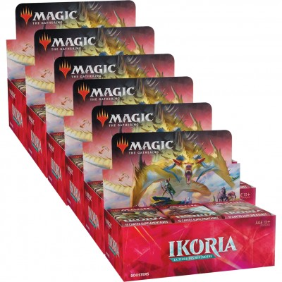 Boites de Boosters Magic the Gathering Ikoria La Terre des Béhémoths - Lot de 6