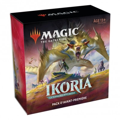 Booster Magic the Gathering Ikoria La Terre des Béhémoths - Pack d'Avant Première