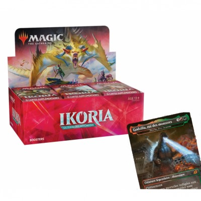 Boites de Boosters Magic the Gathering Ikoria La Terre des Béhémoths + Carte Promo Buy-a-Box