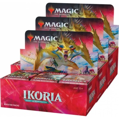 Boites de Boosters Magic the Gathering Ikoria Lair of Behemoths - Lot de 3