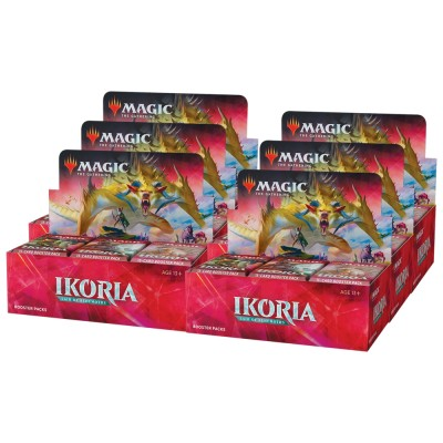 Boites de Boosters Magic the Gathering Ikoria Lair of Behemoths - Lot de 6