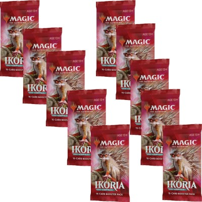 Boosters Magic the Gathering Ikoria Lair of Behemoths - Lot de 10
