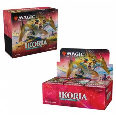 Offres Spéciales Magic the Gathering Ikoria Lair of Behemoths - Small Pack : Boite VO + Bundle VO