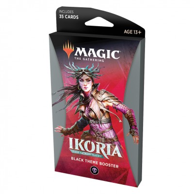 Boosters Magic the Gathering Ikoria Lair of Behemoths - Theme Booster Black