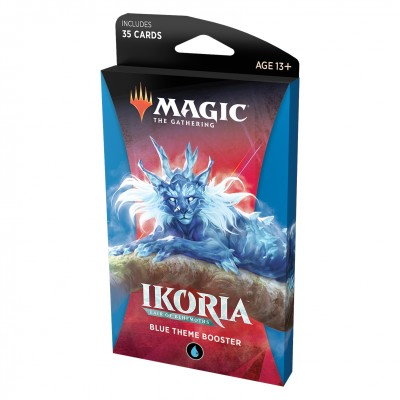 Booster Magic the Gathering Ikoria Lair of Behemoths - Theme Booster Blue