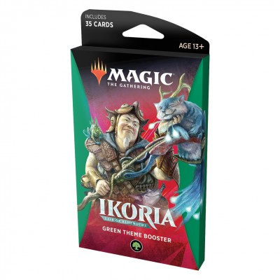 Booster Magic the Gathering Ikoria Lair of Behemoths - Theme Booster Green