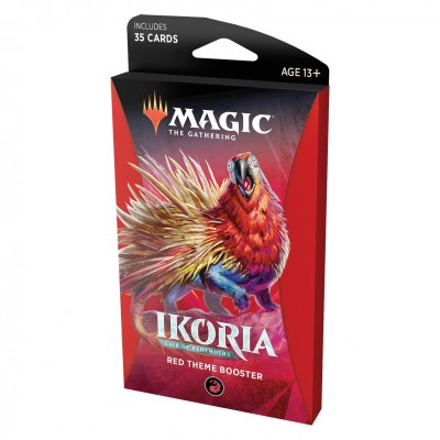 Booster Magic the Gathering Ikoria Lair of Behemoths - Theme Booster Red