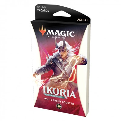 Booster Magic the Gathering Ikoria Lair of Behemoths - Theme Booster White