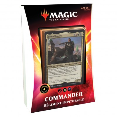 Decks Magic the Gathering Commander 2020 - Régiment Impitoyable