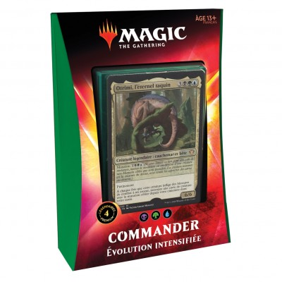 Decks Magic the Gathering Commander 2020 - Evolution Intensifiée