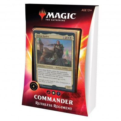 Decks Magic the Gathering Commander 2020 - Ruthless Regiment