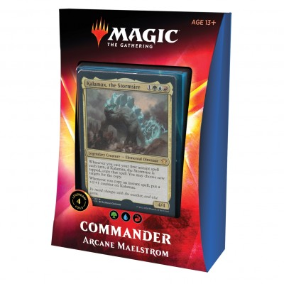 Deck Magic the Gathering Commander 2020 - Arcane Maelstrom
