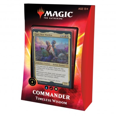 Decks Magic the Gathering Commander 2020 - Timeless Wisdom