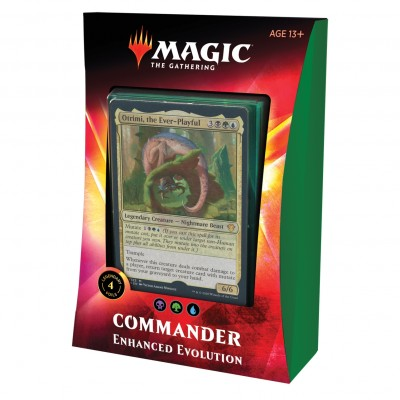 Decks Magic the Gathering Commander 2020 - Enhanced Evolution