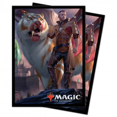 Protèges Cartes illustrées Magic the Gathering Ikoria La Terre des Béhémoths - 100 Pochettes - V1 - Lukka