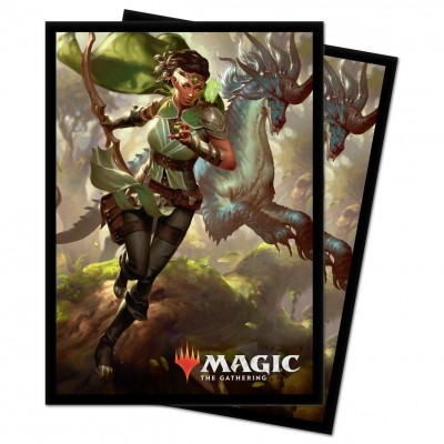 Protèges Cartes illustrées Magic the Gathering Ikoria La Terre des Béhémoths - 100 Pochettes - V2 - Vivien