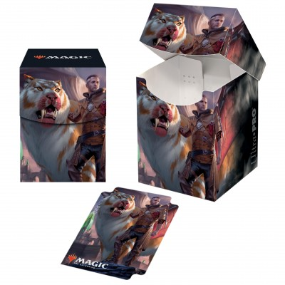 Boite de rangement illustrée Magic the Gathering Ikoria La Terre des Béhémoths - Deck Box 100+ - V1 - Lukka
