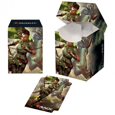 Boites de rangement illustrées Magic the Gathering Ikoria La Terre des Béhémoths - Deck Box 100+ - V2 - Vivien