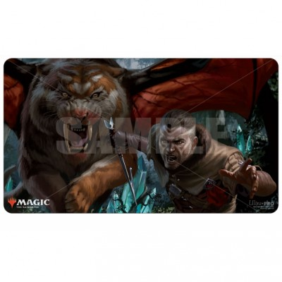 Tapis de Jeu Magic the Gathering Ikoria La Terre des Béhémoths - Playmat - V4 - Choix du sang