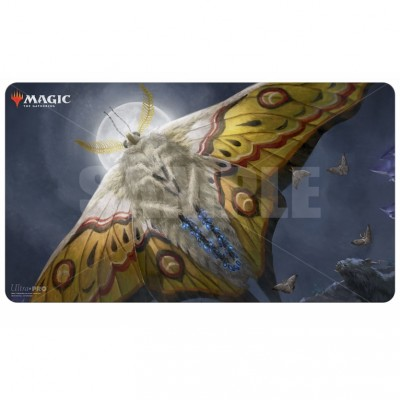 Tapis de Jeu Magic the Gathering Ikoria La Terre des Béhémoths - Playmat - V6 - Phalène pondeuse lumineuse