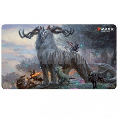 Tapis de Jeu Magic the Gathering Ikoria La Terre des Béhémoths - Playmat - V7 - Kaheera, le Tuteur