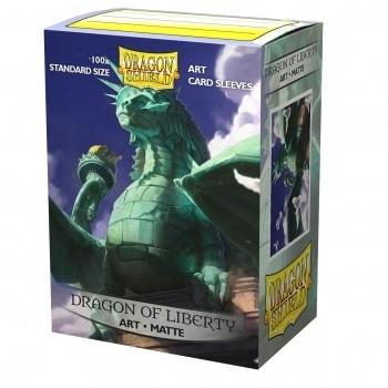 Protèges Cartes illustrées 100 pochettes - Dragon of Liberty