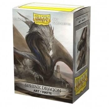Protèges Cartes illustrées 100 pochettes - Sphinx Dragon