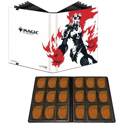 Portfolio Magic the Gathering Pro-binder - 20 pages de 9 cases (360 cartes recto-verso) - Chandra