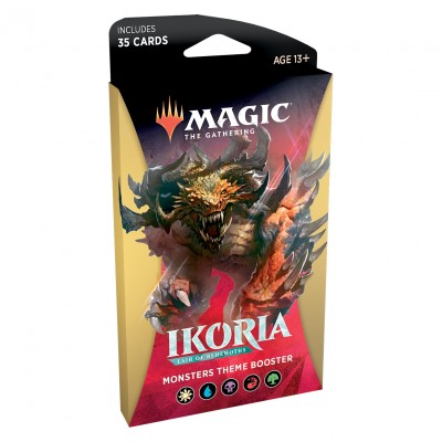 Boosters Ikoria Lair of Behemoths - Theme Booster Monsters