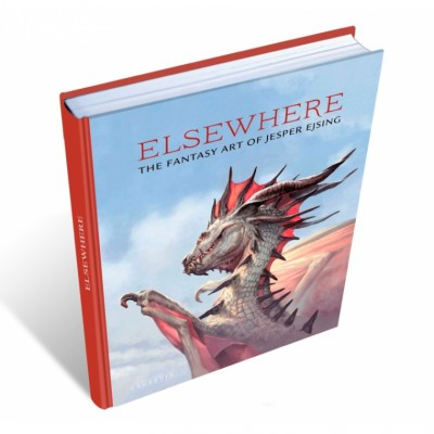 Livres Magic the Gathering Elsewhere – The Fantasy Art of Jesper Ejsing