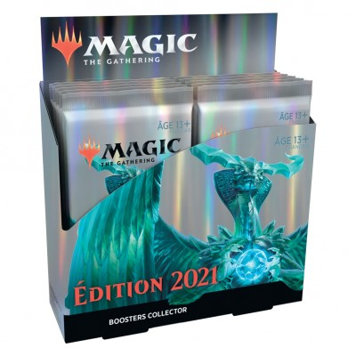 Boites de Boosters Magic the Gathering Edition de Base 2021 - Collector Boosters - Lot de 12