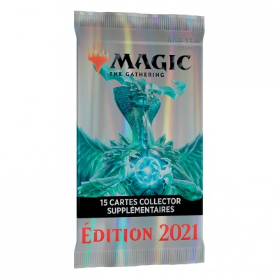 Booster Magic the Gathering Edition de Base 2021 - Collector Booster