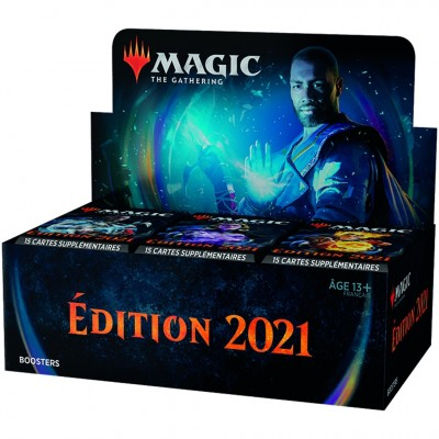 Boites de Boosters Magic the Gathering Edition de Base 2021