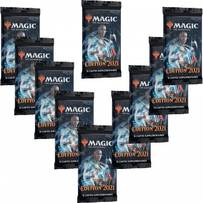 Booster Magic the Gathering Edition de Base 2021 - Lot de 10