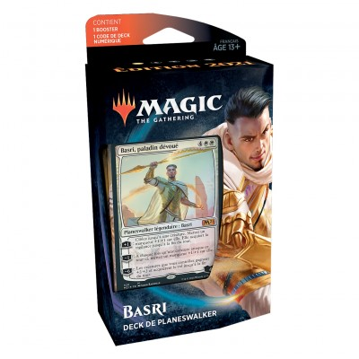 Decks Magic the Gathering Edition de base 2021 - Planeswalker - Basri