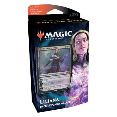 Decks Magic the Gathering Edition de base 2021 - Planeswalker - Liliana