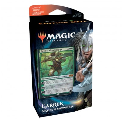 Decks Magic the Gathering Edition de base 2021 - Planeswalker - Garruk
