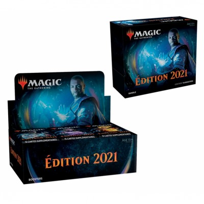 Offres Spéciales Magic the Gathering Edition de Base 2021 - Small Pack : Boite VF + Bundle VF