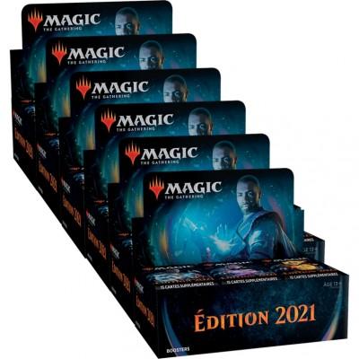 Boites de Boosters Magic the Gathering Edition de Base 2021 - Lot de 6