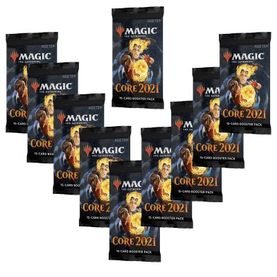 Booster Magic the Gathering Core Set 2021 - Lot de 10