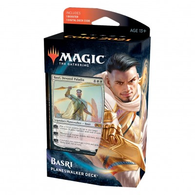 Deck Magic the Gathering Core Set 2021 - Planeswalker - Basri