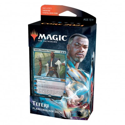 Deck Magic the Gathering Core Set 2021 - Planeswalker - Teferi