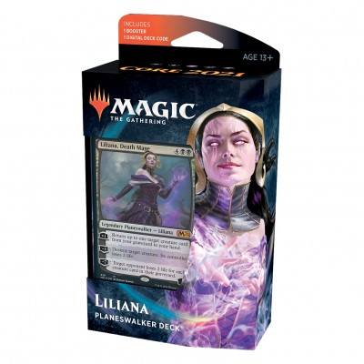 Decks Magic the Gathering Core Set 2021 - Planeswalker - Liliana