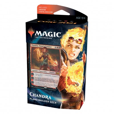 Deck Magic the Gathering Core Set 2021 - Planeswalker - Chandra