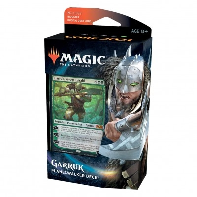 Deck Magic the Gathering Core Set 2021 - Planeswalker - Garruk
