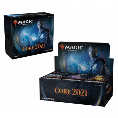 Offres Spéciales Magic the Gathering Core Set 2021 - Small Pack : Boite VO + Bundle VO