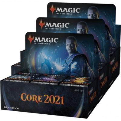 Boites de Boosters Magic the Gathering Core Set 2021 - Lot de 3