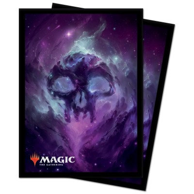 Protèges Cartes illustrées Magic the Gathering Celestial - 100 Pochettes - Swamp