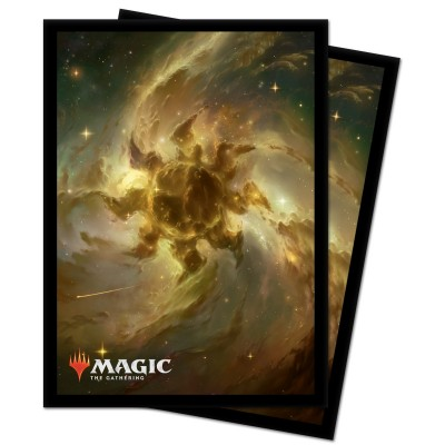 Protèges Cartes illustrées Magic the Gathering Celestial - 100 Pochettes - Plains